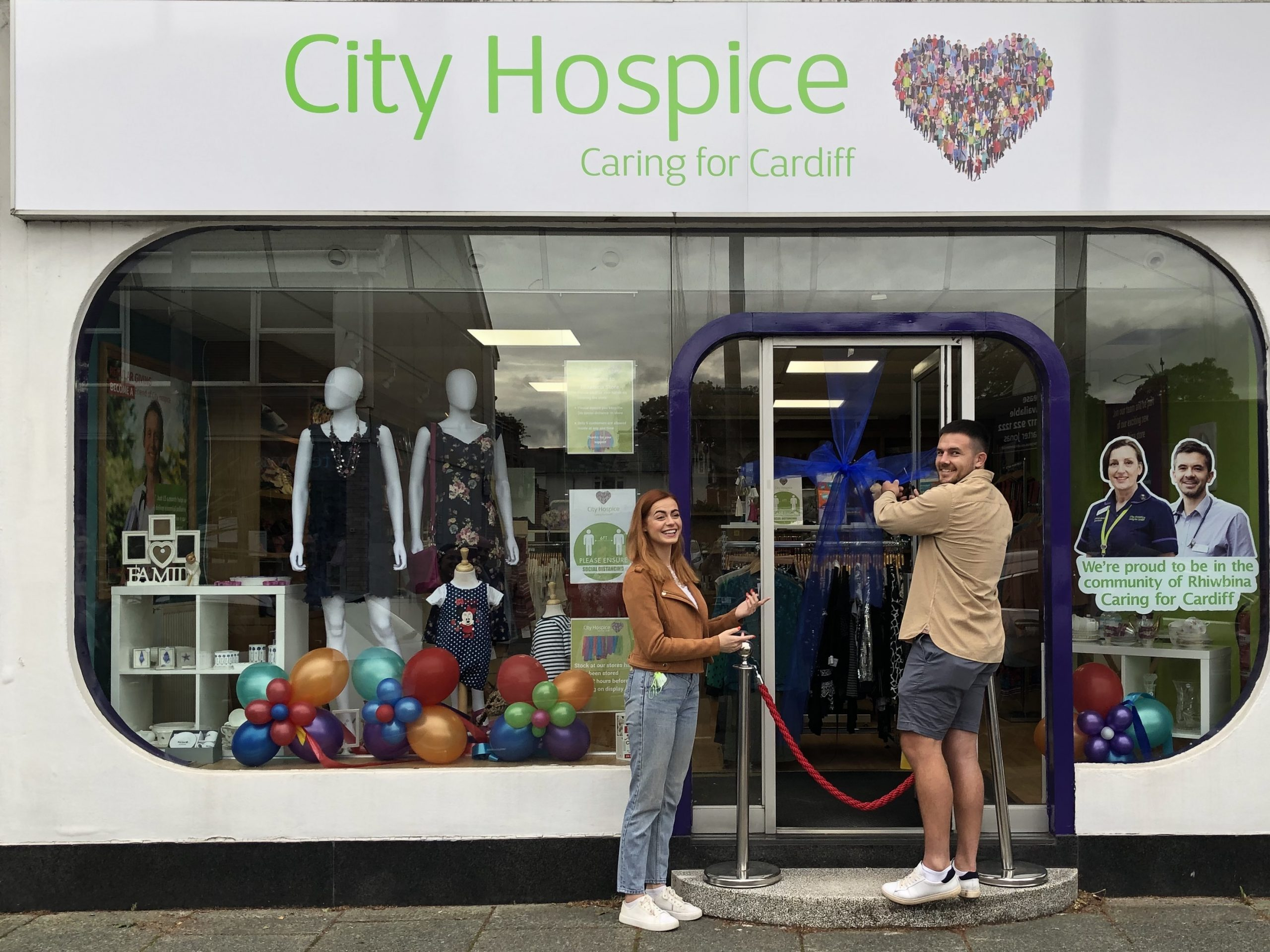 City Hospice open new store in Rhiwbina, Cardiff