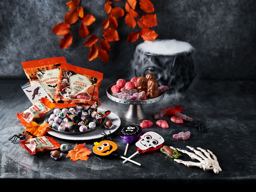 Have the ultimate Halloween 'fright in' with M&S Food…