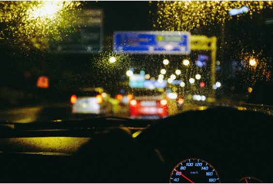 Half of UK's motorists struggle to see when driving in dark