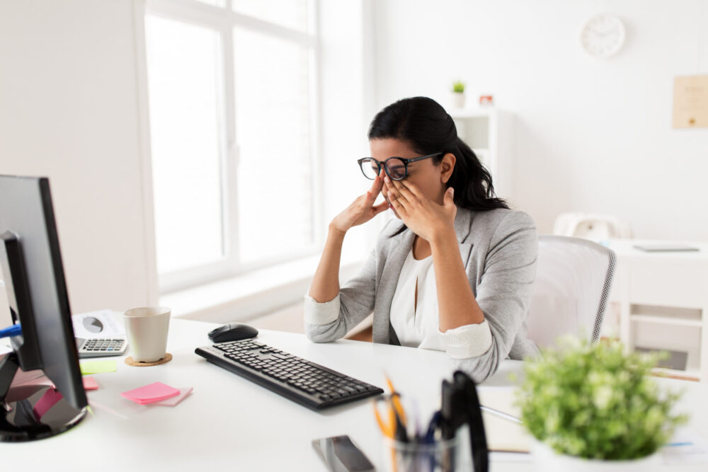 Seeing The Signs Of Stress –  Four Ways Stress Can Affect Your Eyes