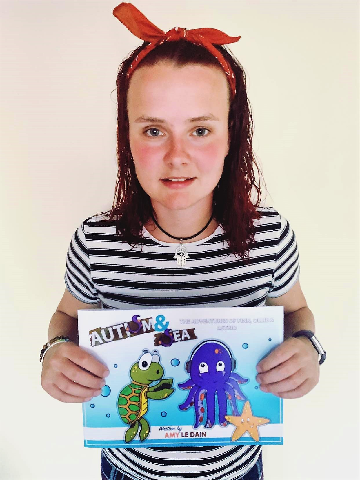 Coleg Cambria ASD student writes series of books for children with autism