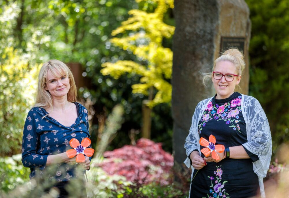 Friends come together to support Forever Flowers
