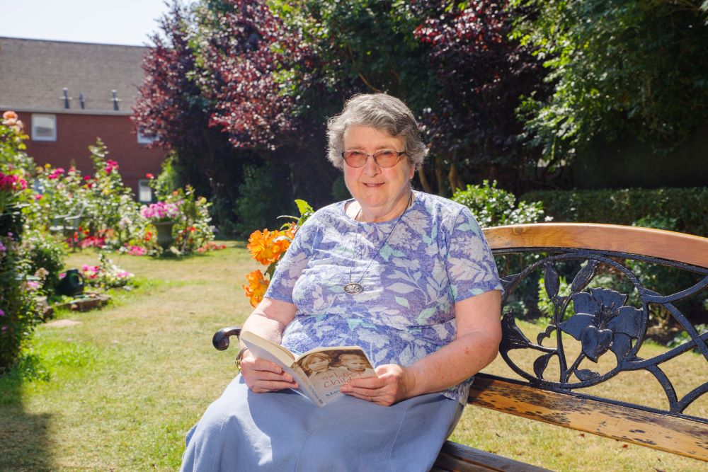 Renting in a retirement development gives keen traveller, Susan Wiggans independence and security