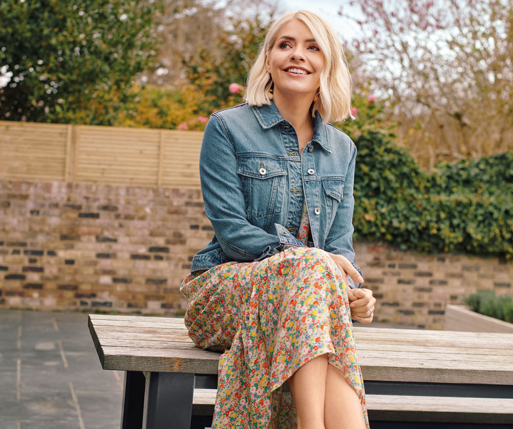 Embrace Holly's Summer Style with this stunning floral dress