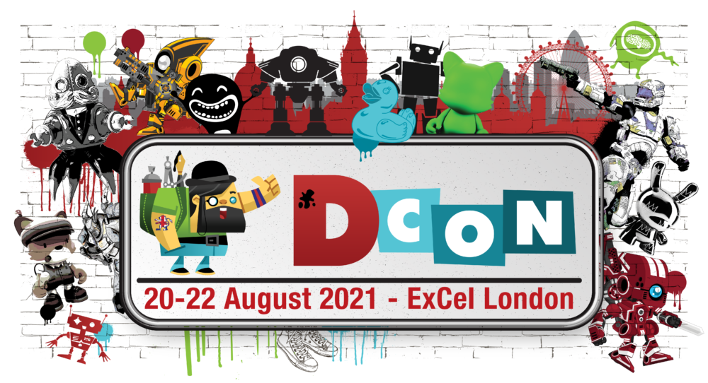 Invest in a collectable at DesignerCon UK