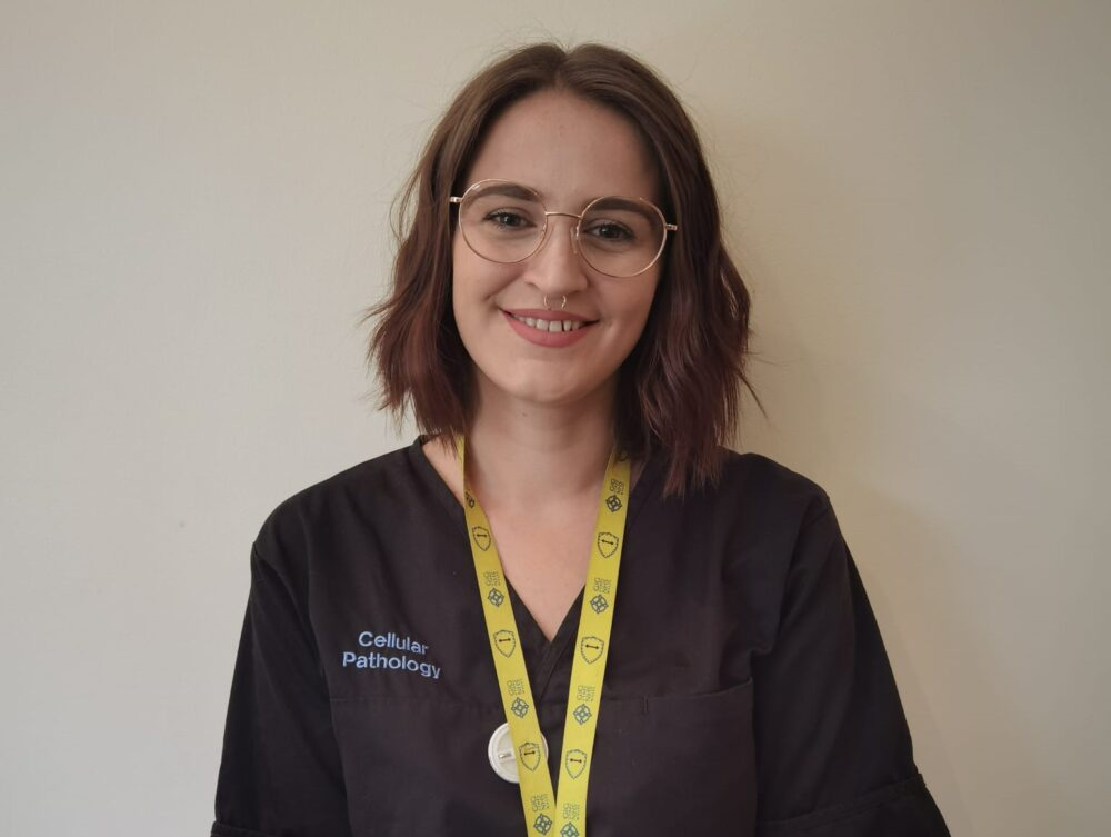 """""""The pandemic inspired me to start an apprenticeship with the NHS"""" says Swansea woman working in testing labs"""