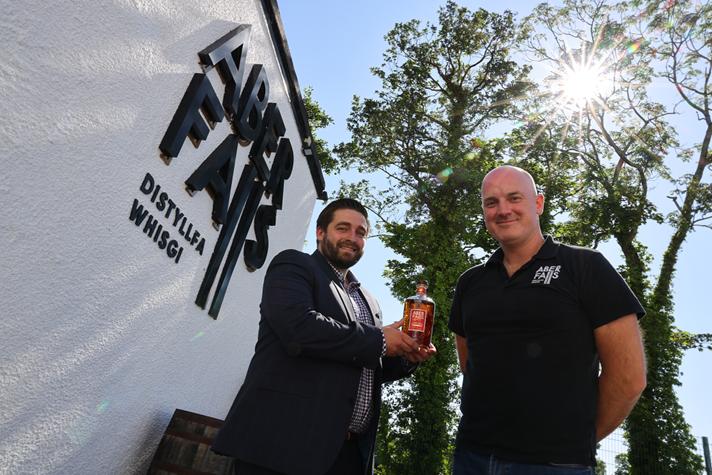 Aber Falls Goes Big With Single Malt Welsh Whisky Release