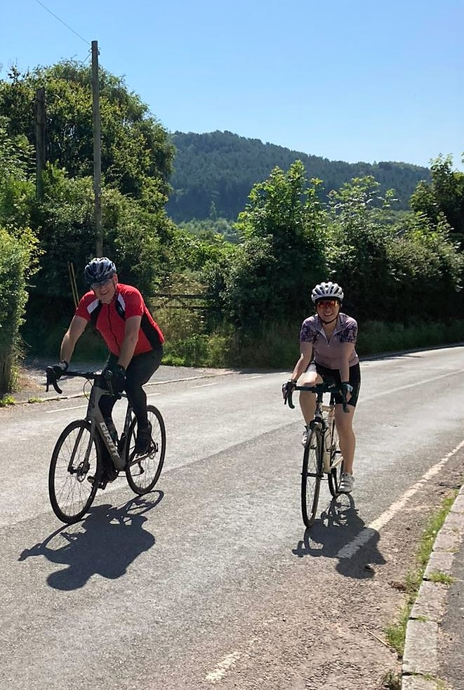 Cyclists on track to complete 250-mile mountain ride and raise £15k for music studio
